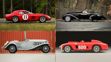 Счет на миллиарды: 20 самых дорогих автомобилей, проданных на аукционах